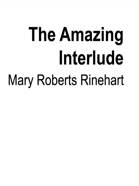 The Amazing Interlude