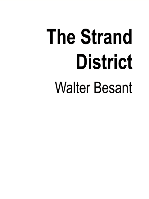 The Strand District