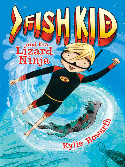 Fish Kid and the Lizard Ninja (Book 1)