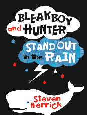 Bleakboy and Hunter Stand Out in the Rain